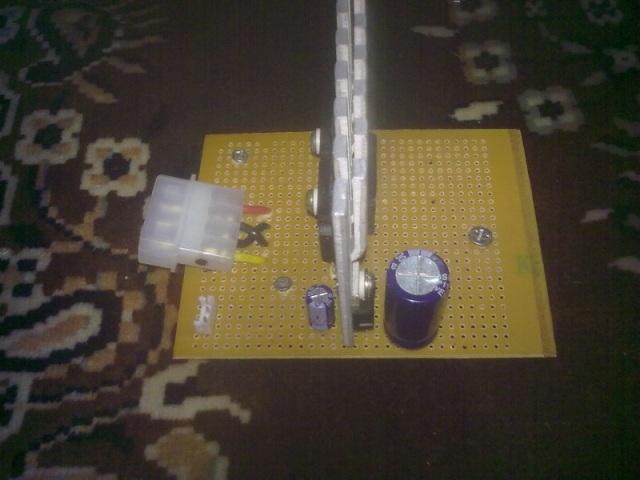 Простой блок питания, выдающий 17 вольт, своими руками