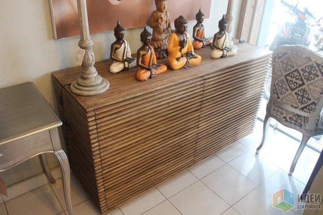 Стол-консоль, родом из Индонезии своими руками
