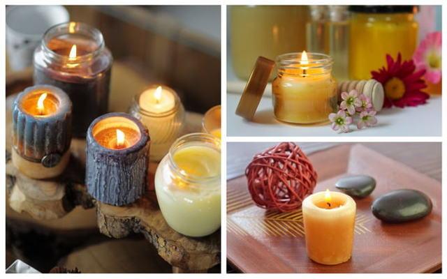 Восковая свеча своими руками из подручных материалов
