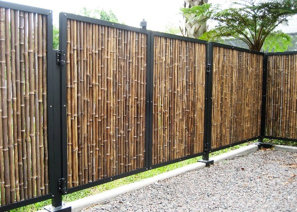 Бамбуковый забор своими руками